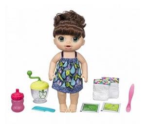 Baby Alive Słodka przekąska brunetka